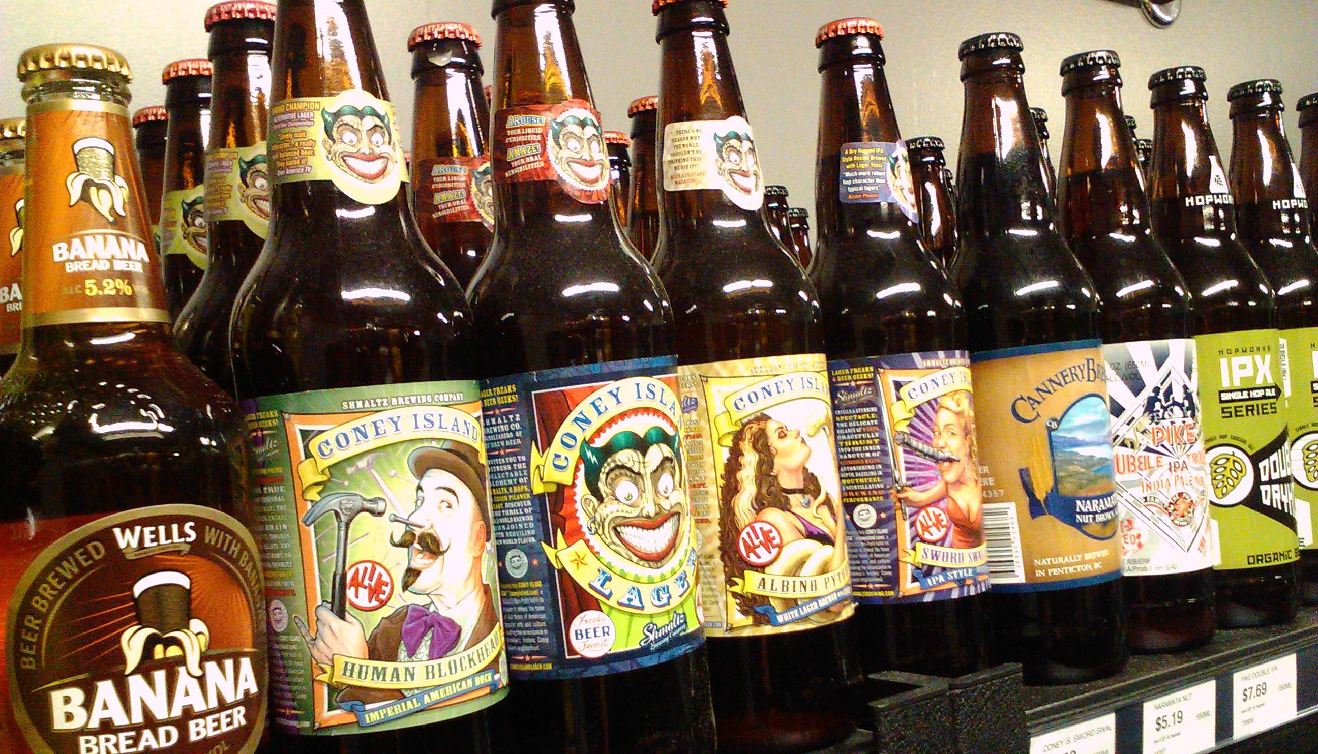 bier bewaren
